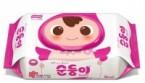 Suomi多用途嬰兒濕紙巾 (80片) (粉紅色)