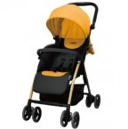 California Bear Nemo Pro 嬰兒初生手推車 – 橘黃