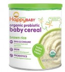 Happy Baby Organic Probiotic Baby Cereal Brown Rice