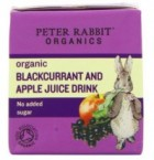 Peter Rabbit Blackcurrant and Apple Juice 100ml