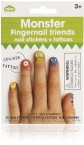 英國NPW指甲貼 Fingernails friends - 怪獸