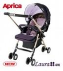 Aprica四輪360度雙向手推車