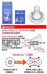 CHUCHU 矽膠製奶嘴 - 3個